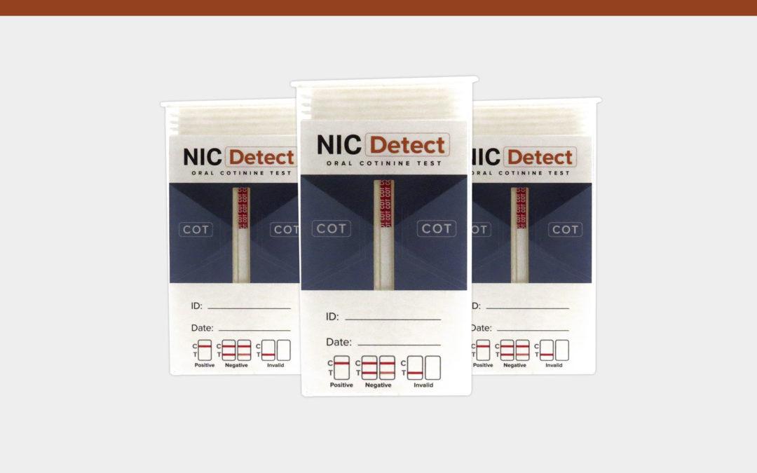 NICDetect Nicotine Test