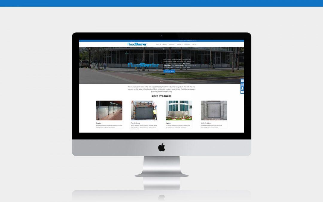 Flood Barrier Website