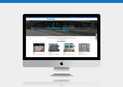 Flood Barrier Website