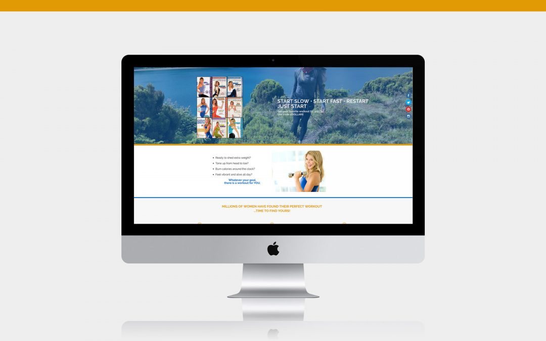 DVD Landing Page